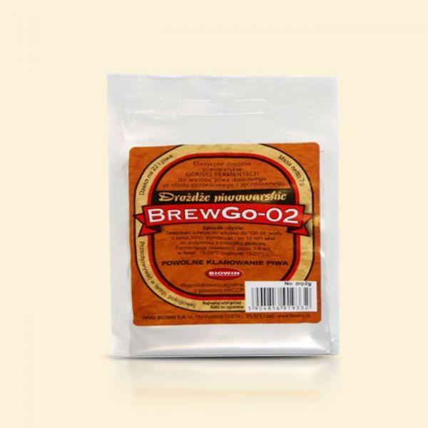 Элевые пивные дрожжи BrewGo-02