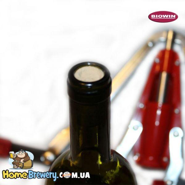 Пробка натуральная корковая кольматированная для вина 24/40мм 100шт.