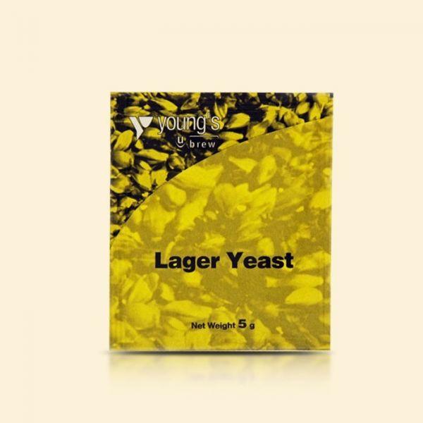 Пивные лагерные дрожжи Young's Lager Yeast, 5г
