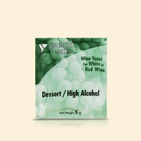Винные дрожжи Youngs Dessert / High Alcohol Yeast