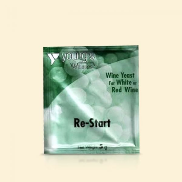 Винные дрожжи Youngs Re-Start Wine Yeast Sachet, 5г