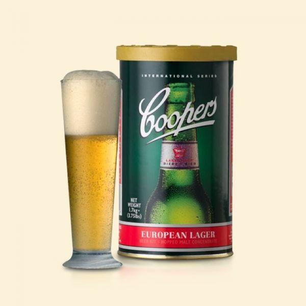 Солодовый концентрат Coopers European Lager 1,7кг