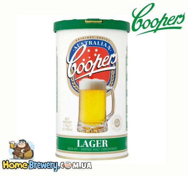 Солодовый концентрат Coopers Lager 1,7кг