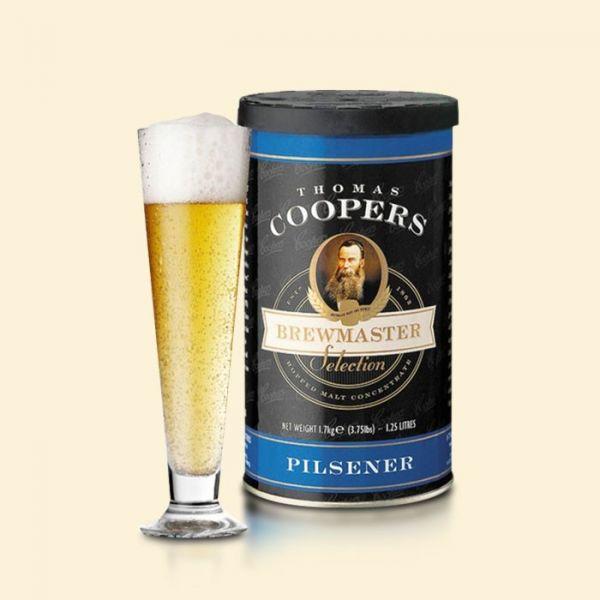 Солодовый концентрат Coopers Pilsener 1,7кг