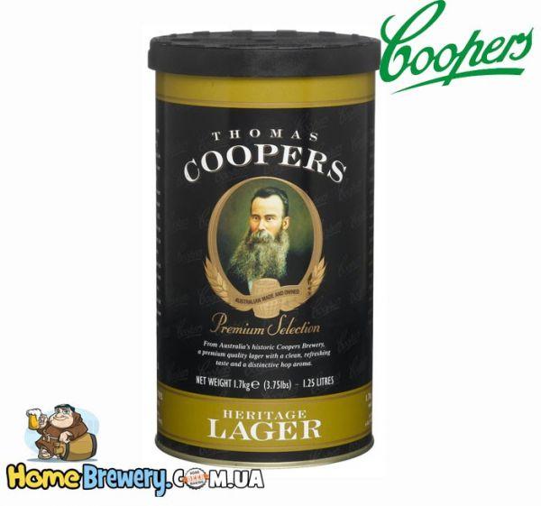 Солодовый концентрат Coopers Heritage Lager 1,7кг
