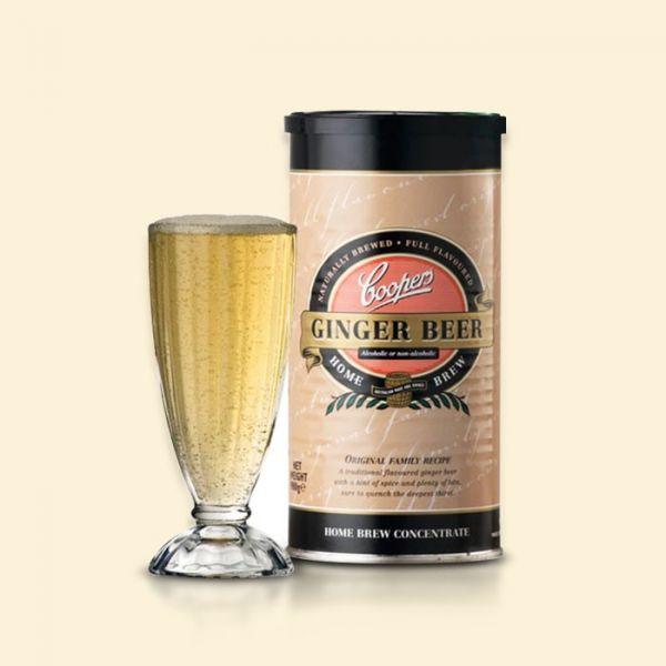 Солодовый концентрат Coopers Ginger Beer 0,98кг