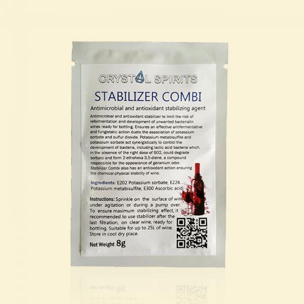 Комбинированный стабилизатор вина CRYSTAL SPIRITS Stabilizer Combi