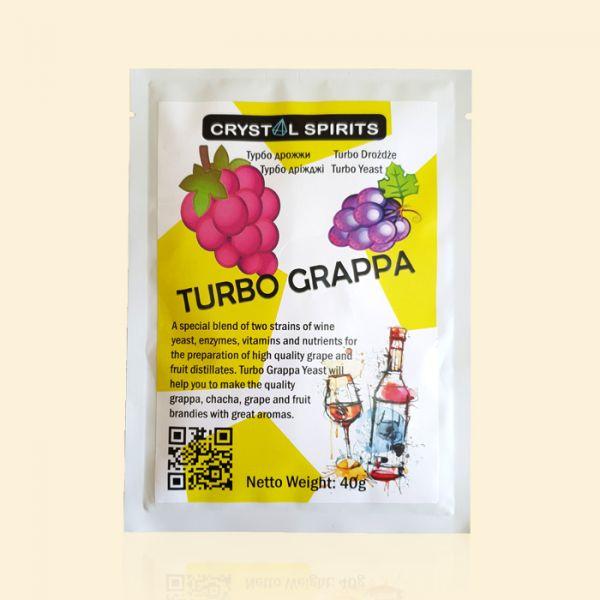 Дрожжи для граппы и чачи Crystal Spirits Turbo Grappa Yeast