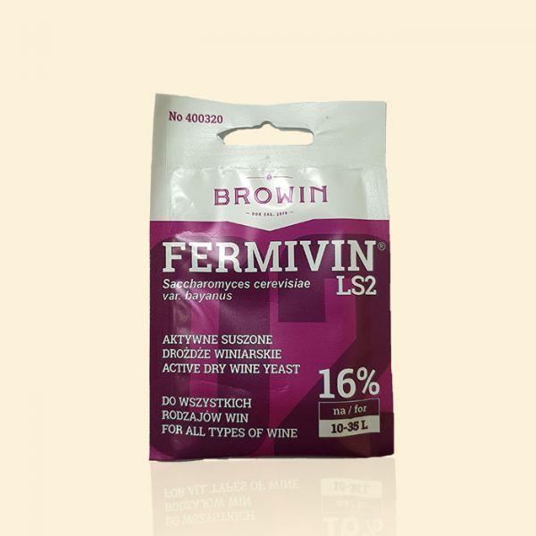 Универсальные винные дрожжи Browin Fermivin LS2