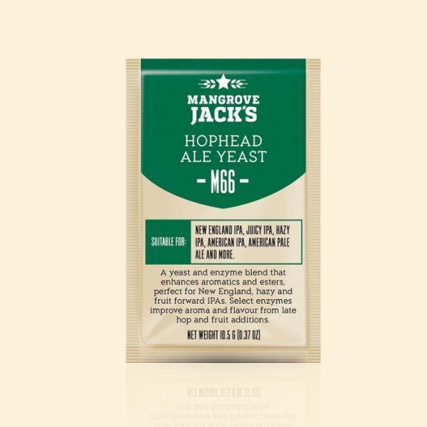 Дрожжи Mangrove Jack's M66 Hophead Ale Yeast