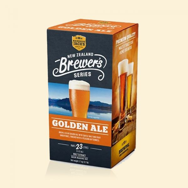Экстракт пива Mangrove Jack's NZ Brewer's Series GOLDEN ALE 1.7кг