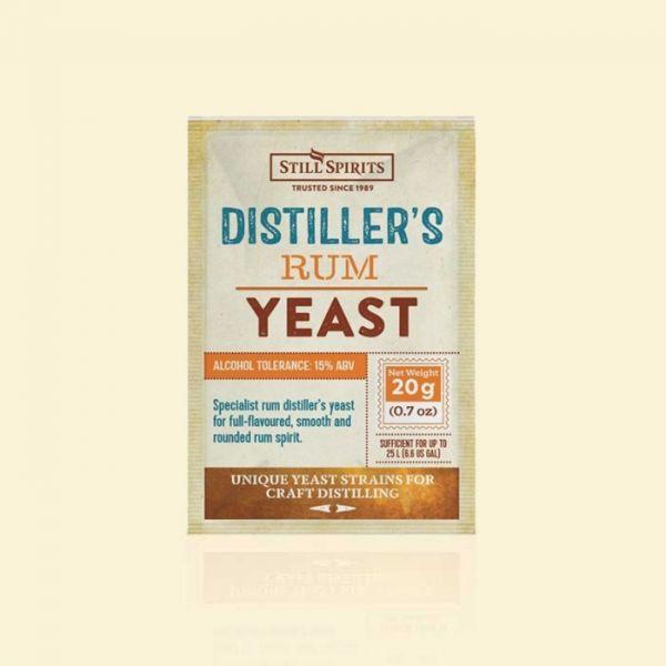Крафтовые дрожжи для рома Still Spirits Distiller's Rum Yeast 20g