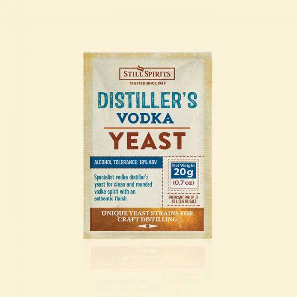 Крафтовые дрожжи для водки Still Spirits Distiller's Vodka Yeast 20g